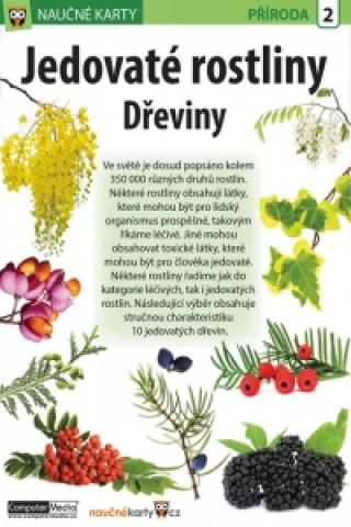 Naučné karty Jedovaté rostliny Dřeviny