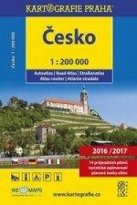 Česko, autoatlas 1:200 000