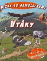 Kniha so samolepkami Vtáky