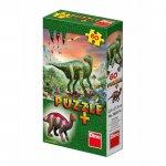 Puzzle Dinosauři + figurka
