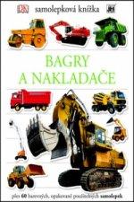 Samolepková knížka Bagry a nakladače