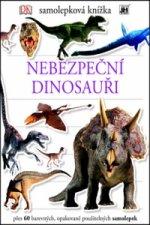 Samolepková knížka Nebezpeční dinosauři