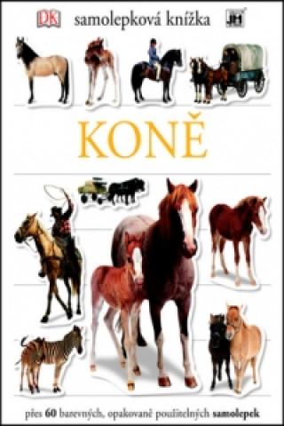 Samolepková knížka Koně