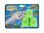 Whacky Shots 9,5cm s doplňky Metal Blast šedý na kartě