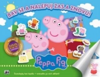 Bav se a nalepuj zas a znovu! Peppa Pig