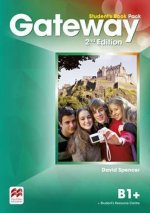 Gateway 2nd edition B1+ Student's Book Pack