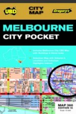 Melbourne City Pocket Map 360 16th