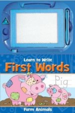 Activity Sketch Pad: Learn to Write First Words
