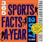 Official 365 Sports Facts-A-Year Page-A-Day Calendar 2017