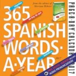 365 Spanish Words-A-Year Page-A-Day Calendar 2017