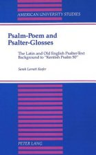 Psalm-Poem and Psalter-Glosses