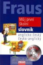 FRAUS Můj první školní slovník anglicko-český / česko-anglický + CD-ROM