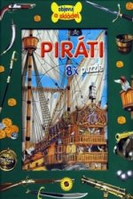 Piráti - 8 x puzzle