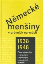 Německé menšiny v právních normách 1938-1948.