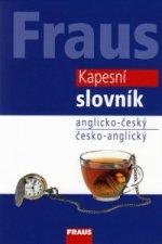Kapesní slovník anglicko-český česko-anglický