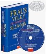 Komplet 2ks Velký ekonomický slovník anglicko-český česko-anglický + CD ROM