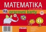 Matematika 1 - pracovní karty