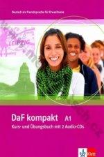 DAF KOMPEKT A1 KURS- UND ÜBUNGSBUCH MIT 2 AUDIO-CDS