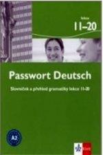 Passwort Deutsch 11-20 - Slovníček a přehled gramatiky