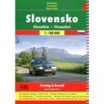 Autoatlas Slovensko 1 : 100 000 turistický