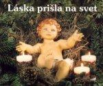 Láska prišla na svet - Vianočné perly