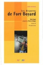 ATELIER DE LECTURE A2 LES DISPARUS DE FORT BOYARD LIVRE + CD AUDIO