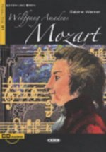 BLACK CAT - Wolfgang Amadeus Mozart + CD (B1)