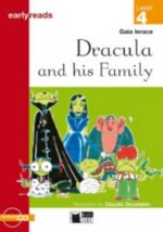 Black Cat DRACULA AND HIS FAMILY + CD ( Early Readers Level 4)
