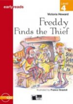 Black Cat FREDDY FINDS THE THIEF + CD ( Early Readers Level 4)