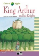 BLACK CAT READERS GREEN APPLE EDITION 2 - KING ARTHUR AND HIS KNIGHTS + CD-ROM
