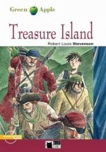 BLACK CAT READERS GREEN APPLE EDITION 2 - TREASURE ISLAND + CD