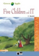 BLACK CAT READERS GREEN APPLE EDITION STARTER - FIVE CHILDREN AND IT + CD