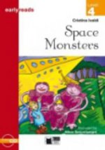Black Cat SPACE MONSTERS + CD ( Early Readers Level 4)