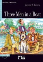 Black Cat THREE MEN IN A BOAT + CD ( Reading a Training Level 3)