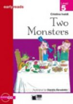 Black Cat TWO MONSTERS + CD ( Early Readers Level 5)