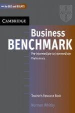 Business Benchmark Pre-Intermediate to Intermediate Teacher's Resource Book