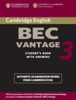 Cambridge BEC Vantage 3 Student's Book with Answers