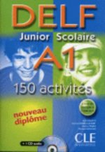 DELF Junior Scolaire A1 - Livre + CD audio