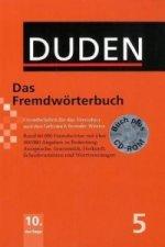 Duden - Das Fremdwörterbuch, m. CD-ROM