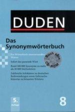 Duden - Das Synonymwörterbuch, m. CD-ROM
