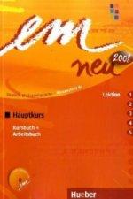Kursbuch + Arbeitsbuch (Lektion 1-5), m. Audio-CD
