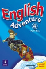 English Adventure Level 4 Pupils Book Plus Reader