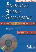 Exercices audio de grammaire– CD audio MP3 - Livre + CD audio