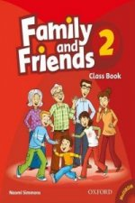 Family and Friends 2: Class Book and MultiROM Pack