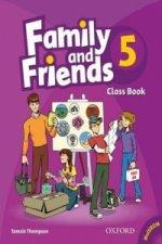 Family and Friends 5: Classbook and Multi-ROM Pack