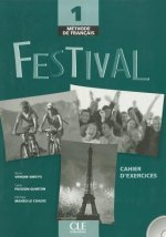 Festival 1 cahier d'exercices + CD