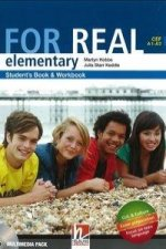 FOR REAL Elementary Level Student's Pack (Starter + Student's Book / Workbook + Links +  CD-ROM + Links CD)