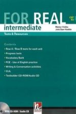 FOR REAL Intermediate Level Tests a Resources + Testbuilder CD-ROM / Audio CD