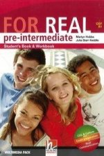 FOR REAL Pre-Intermediate Level Student's Pack (Starter + Student's Book / Workbook + Links + CD-ROM + Links CD)