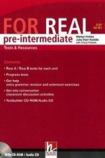 FOR REAL Pre-Intermediate Level Tests a Resources + Testbuilder CD-ROM / Audio CD